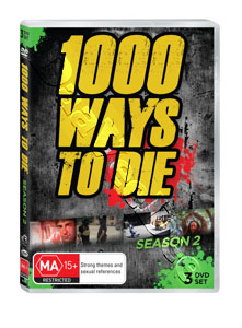 1000 Ways to Die (Season 2) - 3-DVD Set (DVD)
